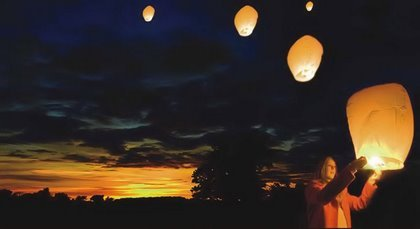 25 Sky Lanterns by MH Manufacturing / TnT Sales.us