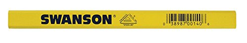 Swanson Tool CP700 Carpenter Pencil, Yellow