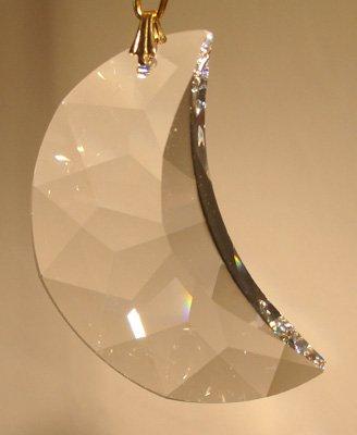- Swarovski 30mm Clear Crystal Moon Prism