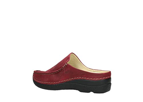 Bordeaux wolky Slipper Roll 11530 Leather nbsp;Roll 6227 Slipper OYOFwqr