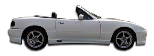1990-1997 Mazda Miata Duraflex Wizdom Side Skirts Rocker Panels - 2 Piece - Miata Side Skirts