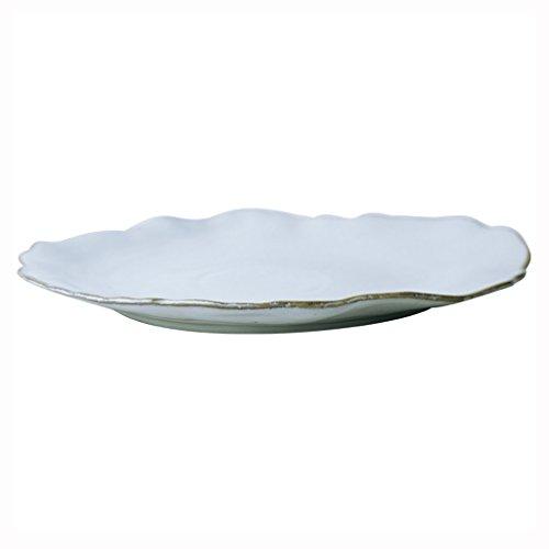 He Xiang Ya Shop Ceramic fruit salad dish plate irregular dessert plate flat plate restaurant steak dish pasta dish plate by He Xiang Ya Shop (Image #7)