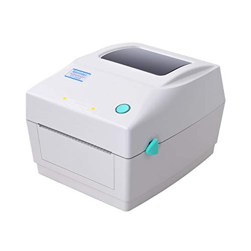 Isali Wholesale Thermal Shipping Address Printer Thermal Barcode Printer  Thermal Label Printer for Express - (Color: White)