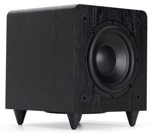 Sunfire SDS12 12'' 600W Black Home Theater Sub Powered Subwoofer Sound System by Sunfire