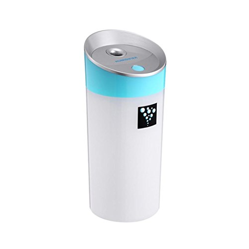 2L Home/Office Ultrasonic Air Purifier Humidifier (Blue) - 3