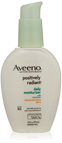 Aveeno Positively Radiant peau Hydratant quotidien FPS 15, 4 once
