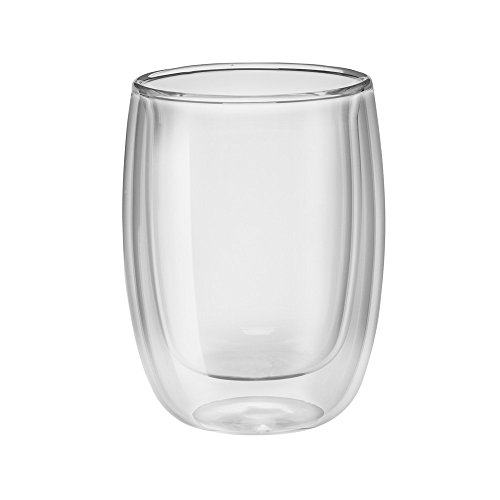 ZWILLING Sorrento 2-pc Double-Wall Glass Coffee Cup Set
