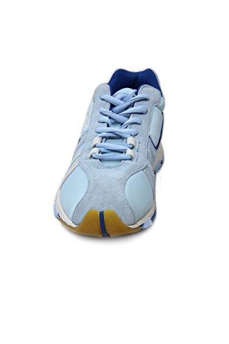Diesel Suede/Nylon Sneaker Psyke Cyan EU39