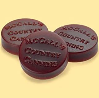 product image for McCall's Country Candles Wax Potpourri Button Set of 6 - Apple Spice