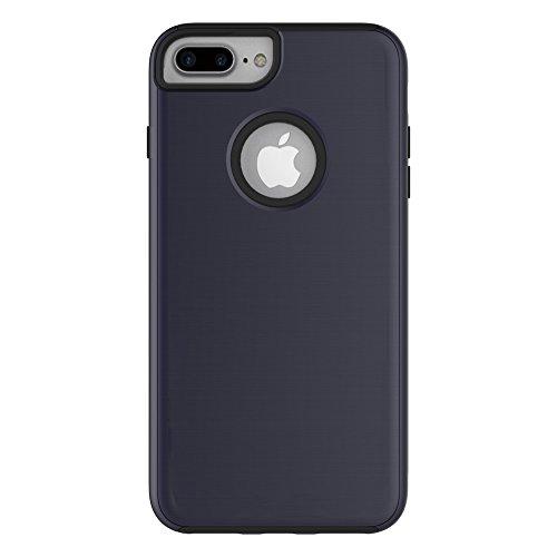 Meimeiwu Hohe Qualität TPU Bumper Case Kratzfeste Schlanke Handyhülle für iPhone 7 Plus - Dark Blue
