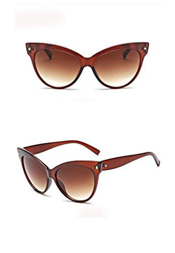 Aoligei Ceinture de type fleur percer Dame polarisant lunettes de soleil lunettes de soleil pilote double couleur grandes lunettes ipO7UWiKwf