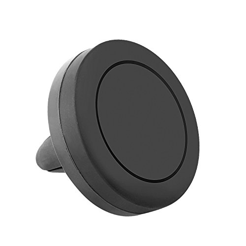 Gold 12' Charger Plate (Magnetic Car Mount, Arukas Universal Magnetic Car Cellphone Mount Holder, Suitable for iPhone X 8/7/7Plus/6s/6Plus/5S, Galaxy Note 8/S6/S7/S8/S8 Plus, Google Nexus, LG, Huawei and More (black))