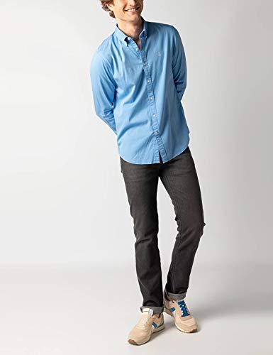 El Ganso Colección Urban Basic, Camisa Gabardina Lisa, para Hombre ...