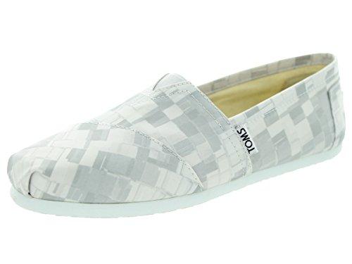 Toms Women's Classic Dove Satin Paint Print Casual Shoe 7.5 Women US
