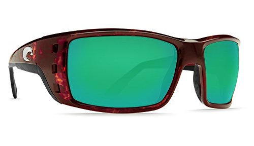 - Costa Del Mar Permit 580P Permit, Tortoise Frame Global Fit Green Mirror, Green Mirror