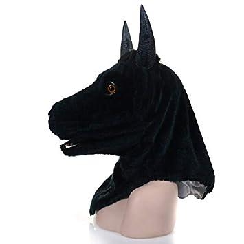 Amazon com: MOUNTAIN MEN Moving Mouth Mask Animal Yellow Cow