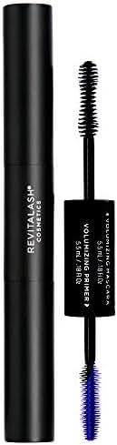 RevitaLash Cosmetics, Double-Ended Volume Set / Volumizing Primer & Volumizing Mascara, Hypoallergenic & Cruelty Free