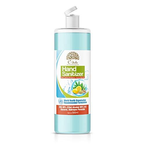 Eveda Hand Sanitizer-neem, aloe vera thymol 500ml