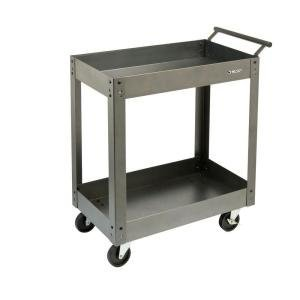 Husky Tool Cart >> Amazon.com : Husky 2-Tray Steel Utility Cart : Office Products