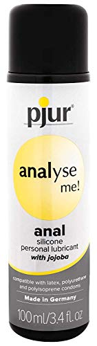 (Bundle Analyse Me Glide 100Ml and 2 pack of Pink Silicone Lubricant 3.3 oz)