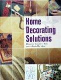 Home Decorating Solutions, Julie Cisler and Tom Carpenter, 1589230787