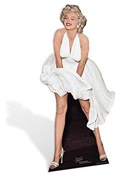 Star Cutouts SC279 Marilyn Monroe White Dress Cardboard Stand Ups