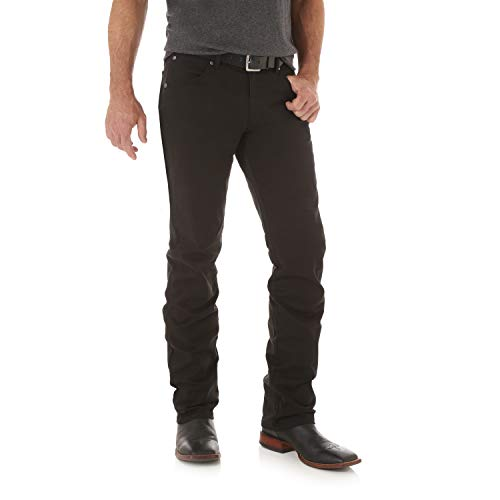 Wrangler Men's Retro Slim Fit Straight Leg Jean, Black, 32W x 32L ()
