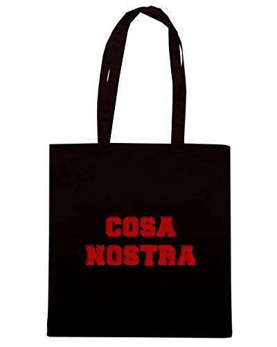 Shirt OLDENG00451 Speed Nera Borsa COSA Shopper NOSTRA dFAxwq816x