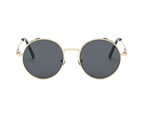 unisex la libre marco del conducción Gafas pesca la de de de de de gafas metal de Guay de sol al viajar para UV400 gafas para sol protección Huyizhi moda la Golden aire Yq4768W