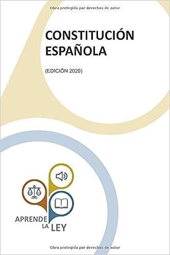 CONSTITUCIÓN ESPAÑOLA: Amazon.es: la Ley, Aprende: Libros