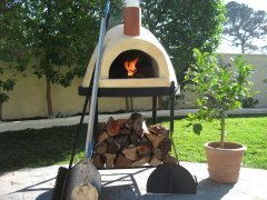 Primavera 60 Outdoor Wood Fired Oven (Yellow) by Forno Bravo