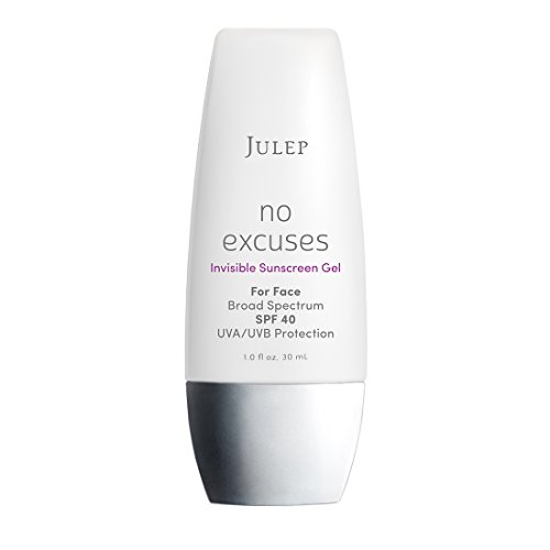 JULEP No Excuses Invisible Sunscreen Gel SPF 40 F/S 1oz NEW