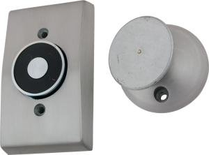 ABH Magnetic Door Holder 2100 Recessed Wall Mount