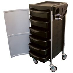 Celebrity 6-Tray Lockable Salon Trolley by Celebrity