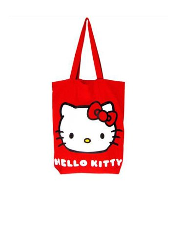Hello Kitty Classic Red Tote Bag BB Designs