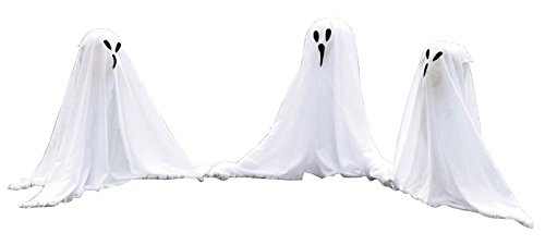 (Ghostly Group Lawn Decor -)