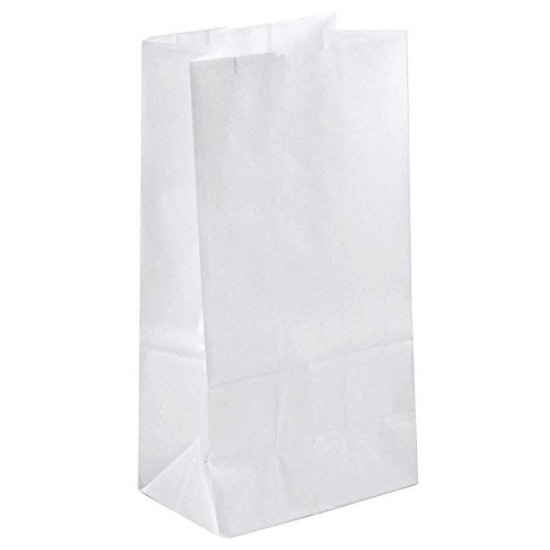 Duro White Paper Bag 2 Lb, 500 Count - 500 White Paper