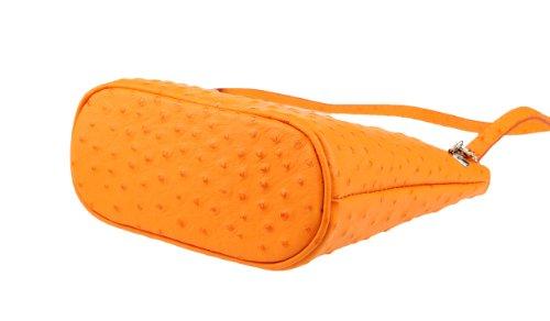 OBC Only-Beautiful-Couture - Bolso cruzados para mujer Azul azul oscuro 19x21x9 cm (BxHxT) naranja