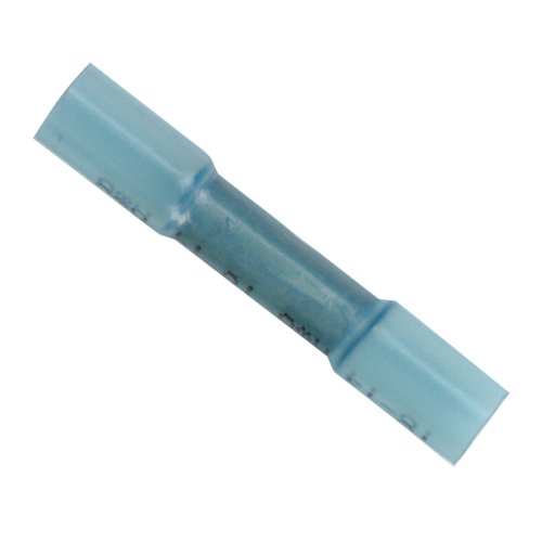 14 thru 16 AWG Heat Shrink 1//4-Inch Stud Forney 54812 Connector Ring Terminal