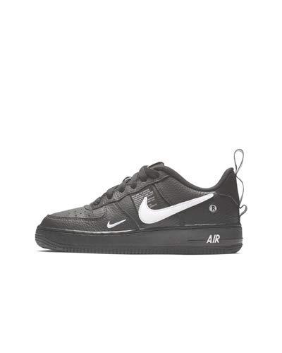 Nike Kids Air Force 1 LV8 WhiteBlack (GS)