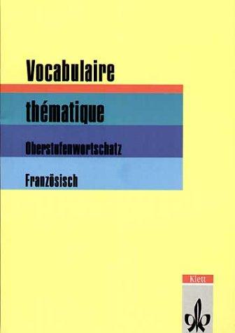 Vocabulaire thématique