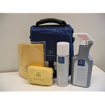 Mercedes benz interior car care kit genuine for Mercedes benz cleaning products
