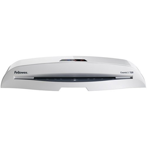 Portable, Fellowes Laminator Cosmic2 125, 12.5-Inch with 10 Pouches (5726301) Size: 12.5 Inch Consumer Electronic Gadget Shop by Portable4All
