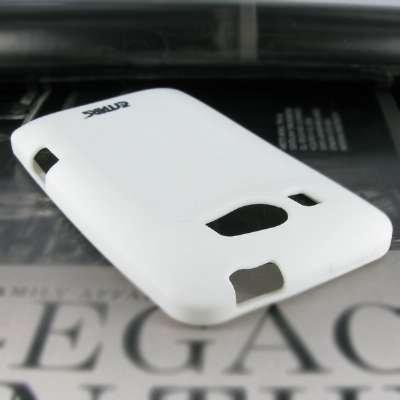 EMPIRE HTC Titan II Silicone Skin Case Cover (White) [EMPIRE Packaging]