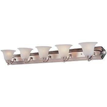 Dvi Dvp42405sn 5 Light Diamond Bathroom Bar Light