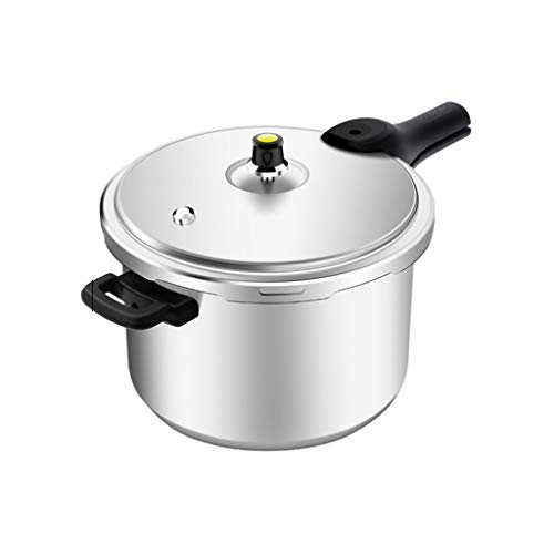 Pressure Cooker Aluminum Alloy Pressure Cooker Household Gas Fire Flame Explosion-proof Small Pressure Cooker Large 1-6 People Cookers (Size : -