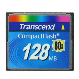 Transcend 128mb Compactflash Memory Card 128 MB Compact Flash Memory Card CF Type I ()
