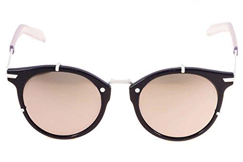 Dior Homme Lunettes de soleil Dior 0196S Pour Homme Polished Black   Matte  Black   Grey ... ac78e7a7269f