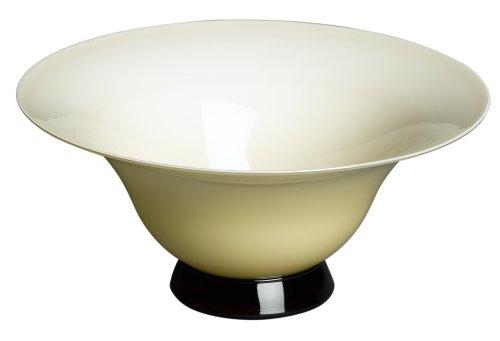 Venini Art Glass - VENINI 'Anni Trenta' 4.75-Inch Opalescent Straw Yellow Bowl