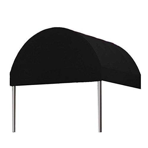 Awntech Baltimore Entrance Canopy, 6 by 18 by 10-Feet, Black